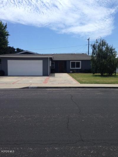 Oxnard Single Family Home For Sale: 540 Hazelwood Drive