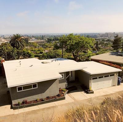 Ventura Single Family Home For Sale: 3162 Grove Street