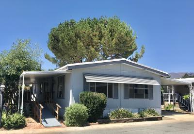 Ojai Mobile Home For Sale: 950 Woodland Avenue #63