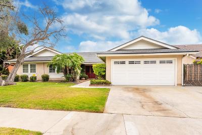 Oxnard Single Family Home For Sale: 1310 Lawrence Way