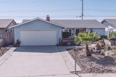 Oxnard Single Family Home For Sale: 4031 San Juan Avenue