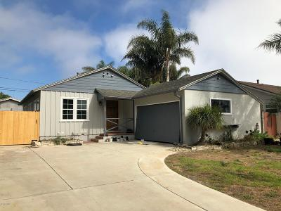 Ventura Single Family Home Active Under Contract: 538 S Dos Caminos Avenue