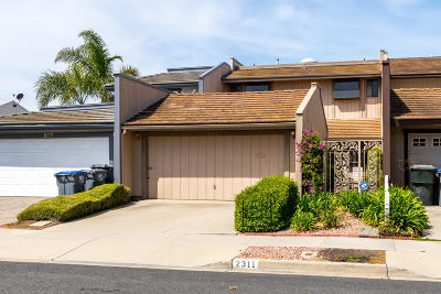 Oxnard Single Family Home For Sale: 2311 Jamestown Lane