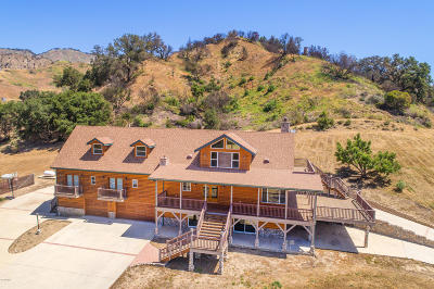 Santa Paula Single Family Home For Sale: 7477 Wheeler Canyon Road