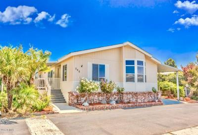 Ventura Mobile Home For Sale: 345 Hadley Drive