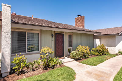 Oxnard Single Family Home Active Under Contract: 568 Holly Avenue