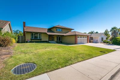 Camarillo Single Family Home Active Under Contract: 2686 Aloha Street