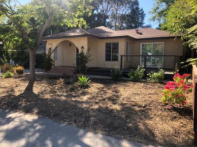 Ojai Single Family Home For Sale: 301 Park Road