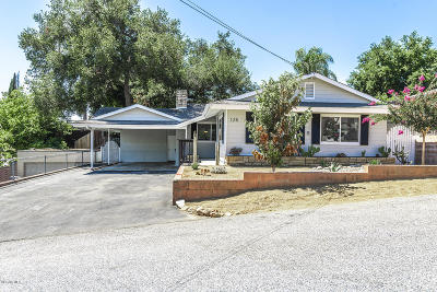 Oak View Single Family Home For Sale: 125 Oak Drive