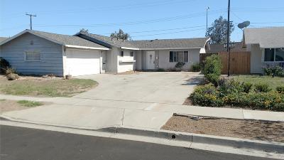 Ventura Single Family Home For Sale: 7350 Eisenhower Street