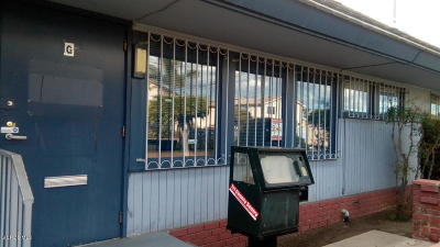 Oxnard Commercial For Sale: 1200 Ventura Road #G