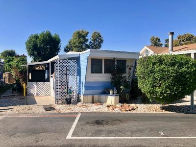 Ventura County Mobile Home Active Under Contract: 5150 E Los Angeles Avenue #3