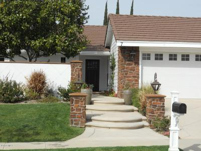 Thousand Oaks Single Family Home Active Under Contract: 7 Venus Street