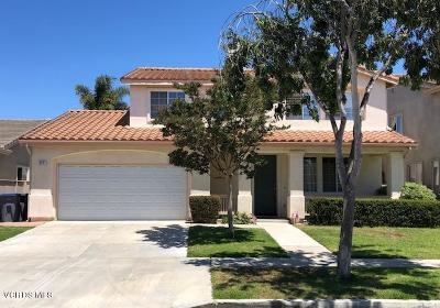 Oxnard Single Family Home Active Under Contract: 1441 Camino De La Luna