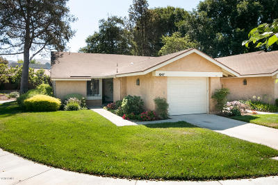 Camarillo Single Family Home For Sale: 8147 Village 8