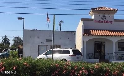 Oxnard Commercial For Sale: 932 W Wooley Road