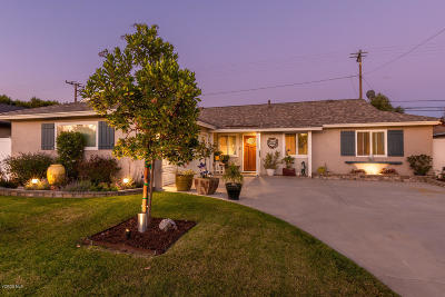 Camarillo Single Family Home For Sale: 1208 Milligan Drive