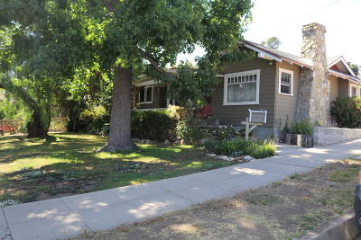 Santa Paula Single Family Home Active Under Contract: 422 7th Street