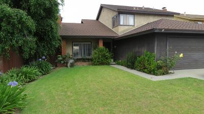 Oxnard Single Family Home For Sale: 1171 Acapulco Court