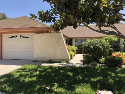 Camarillo Single Family Home For Sale: 25316 Village 25