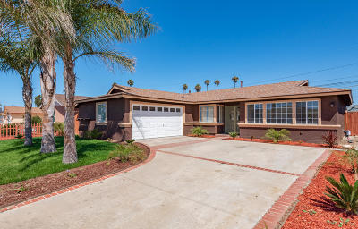 Oxnard Single Family Home For Sale: 1355 Spruce Street