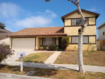 Oxnard Single Family Home For Sale: 3525 Oarfish Lane