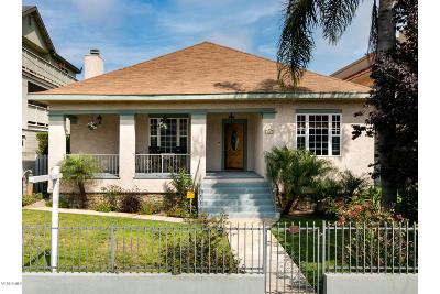 Ventura Single Family Home For Sale: 120 S Laurel Street