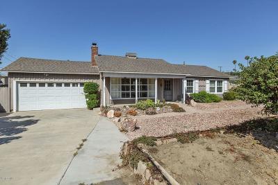 Camarillo Single Family Home For Sale: 211 Mission Drive