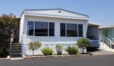 Camarillo Mobile Home Active Under Contract: 4388 E Central Avenue #20