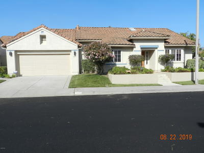 Santa Paula Single Family Home Active Under Contract: 125 Via Solana