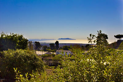 Ventura County Residential Lots & Land For Sale: 857 Monte Vista Avenue