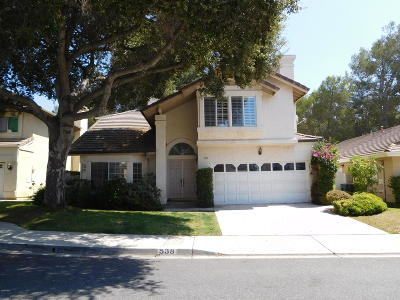 Thousand Oaks Single Family Home For Sale: 538 Timberwood Avenue