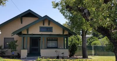 Santa Paula Single Family Home Active Under Contract: 816 E Santa Paula Street