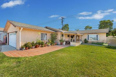 Camarillo Single Family Home Active Under Contract: 254 Cartagena Street