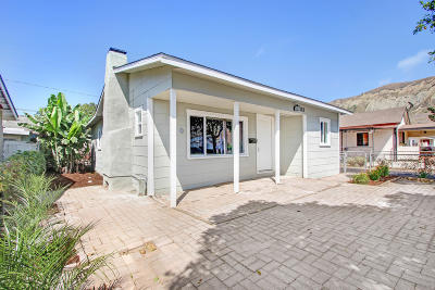 Ventura Single Family Home Active Under Contract: 183 E McFarlane Street