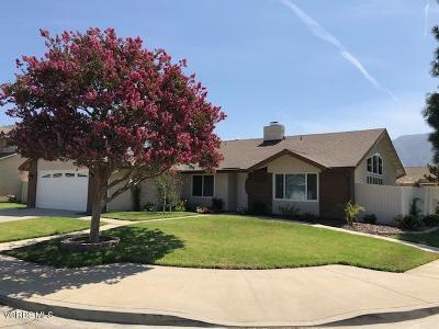 Ventura County Single Family Home Active Under Contract: 370 Spindlewood Avenue