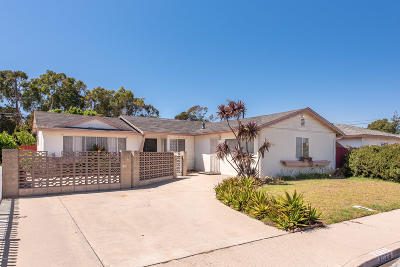 Oxnard Single Family Home For Sale: 3023 Napa Street