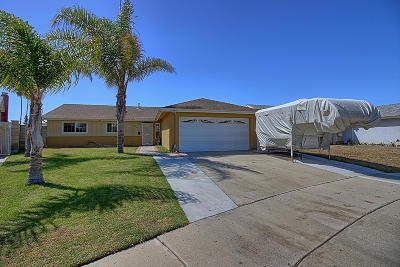 Oxnard Single Family Home Active Under Contract: 2034 Pericles Place