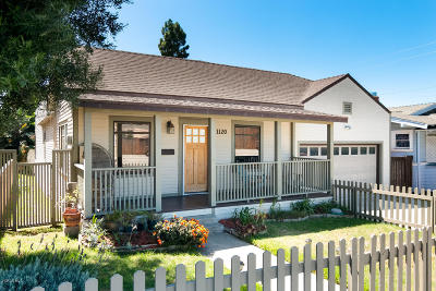 Ventura Single Family Home Active Under Contract: 1120 E Meta Street