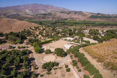 Santa Paula Single Family Home Active Under Contract: 4381 Ojai Road
