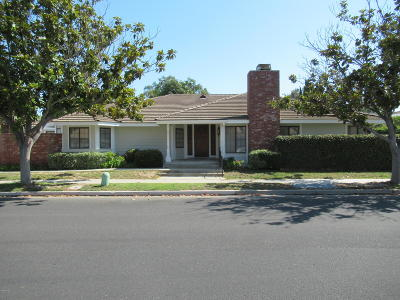 Oxnard Single Family Home For Sale: 2281 Southern Hill Drive