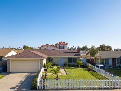 Oxnard Single Family Home Active Under Contract: 640 Foxglove Place