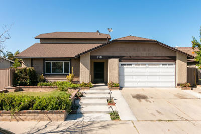 Oxnard Single Family Home Active Under Contract: 2131 Platform Place
