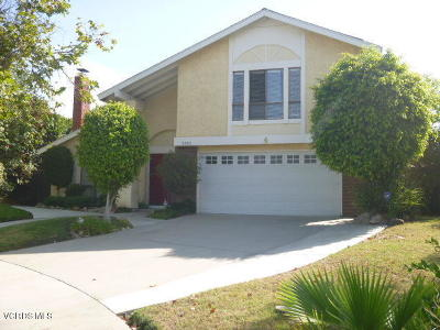 Camarillo Single Family Home Active Under Contract: 2308 Moreno Drive