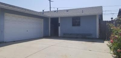 Oxnard Single Family Home Active Under Contract: 1632 Morris Street