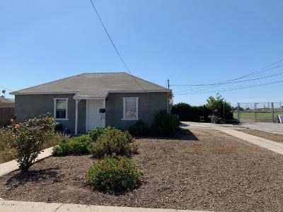Oxnard Multi Family Home Active Under Contract: 1203 S D Street