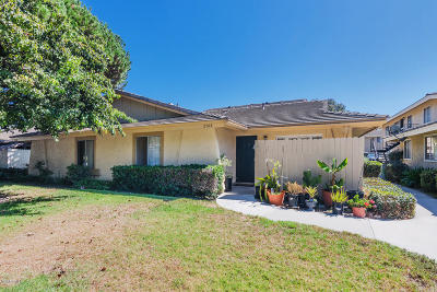 Port Hueneme Condo/Townhouse For Sale: 2748 Bolker Drive #D