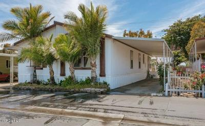 Oxnard Mobile Home Active Under Contract: 1853 Ives Avenue #59