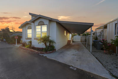 Oxnard CA Mobile Home For Sale: $180,000