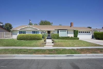 Newbury Park Single Family Home Active Under Contract: 3343 William Drive